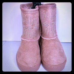 Bebe Toddler girls Blush (pink) boots
